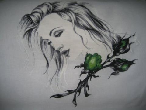 Девушка с зелеными розами - Любовь Евгеньевна Сало
