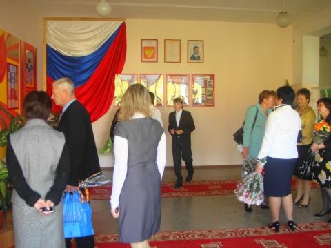 Экскурсия по школе - МОУ `Краснозаводская общеобразовательная школа №1`
