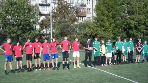 Турнир по футболу -район - ГБОУ СОШ № 346, Комплекс