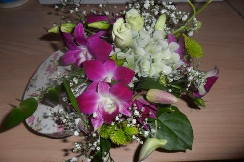 нежный букетик - Городские цветы
