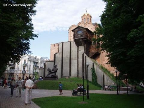 Золотые ворота Киева - Александр Николаевич Комлев