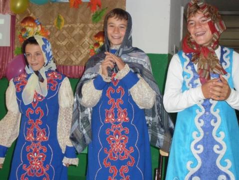три девицы - Муниципальное общеобразовательное учреждение ` Дмитриевская основная общеобразовательная школа`