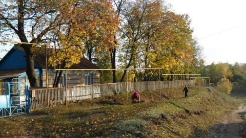 Осень в деревне - Людмила Николаевна Громакова