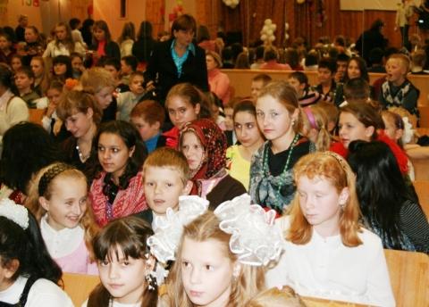 День учителя - 02 - ГБОУ Школа № 268 Невского района Санкт-Петербурга