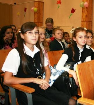 День учителя - 09 - ГБОУ Школа № 268 Невского района Санкт-Петербурга