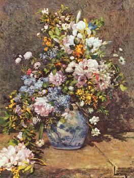 Натюрморт с большой цветочной вазой - Татьяна ТЕОдоровна Гридина