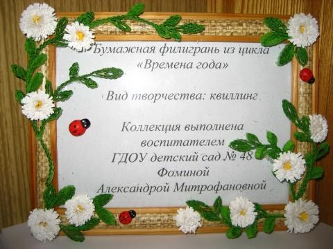 Фомина А.М. - ГБДОУ детский сад №48