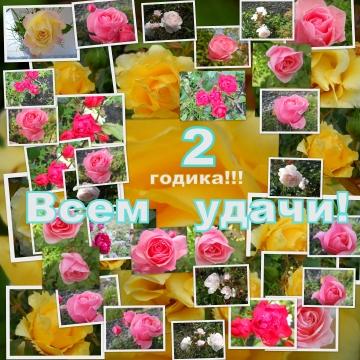 Нам 2 годика ! - Надежда Ивановна Курдюмова