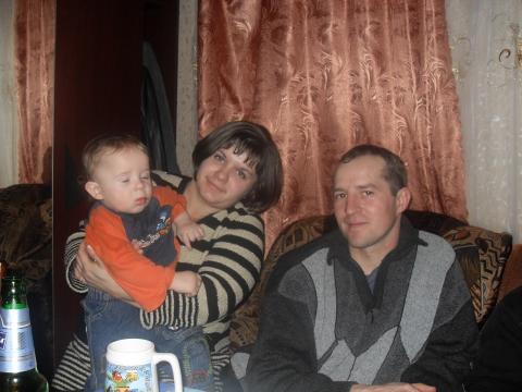 Мы с мужем и сыном - Евгения Ивановна Макушкина