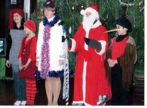 Новый 2010 год. - Муниципальное общеобразовательное учреждение Страчовская основная общеобразовательная школа