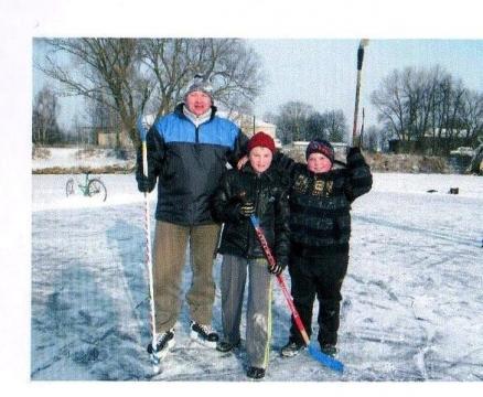 В хоккей играют настоящие мужчины - Муниципальное общеобразовательное учреждение Страчовская основная общеобразовательная школа
