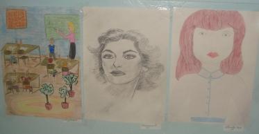 Конкурс рисунков`Мой любимый учитель` - Светлана Ивановна Смирнова