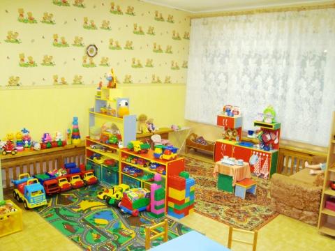 Оформление игровой зон в детском саду своими  43