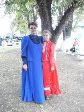 Казачки - мама и дочка - Наталья Валерьевна Ефимова