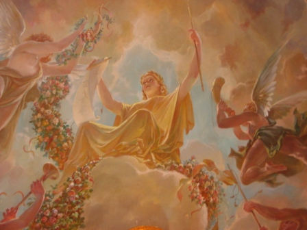 Роспись на потолке - Татьяна ТЕОдоровна Гридина