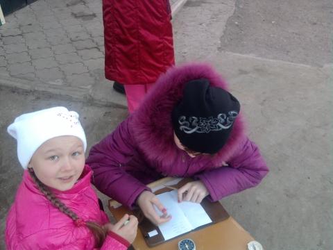 Мои ученицы на ориентировании. - Фануза Маснавиевна Афлятунова
