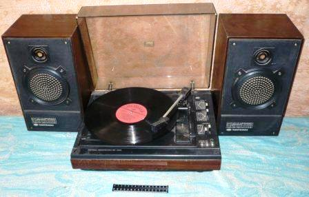 Электрофон ```Радиотехника -301 стерео `` (1980-е г.) - МБОУ `Высоковская средняя общеобразовательная школа.