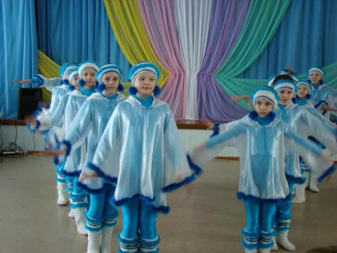 Школьная танцевальная студия - муниципальное общеобразовательное учреждение `Средняя общеобразовательная школа № 1` города Заозёрного