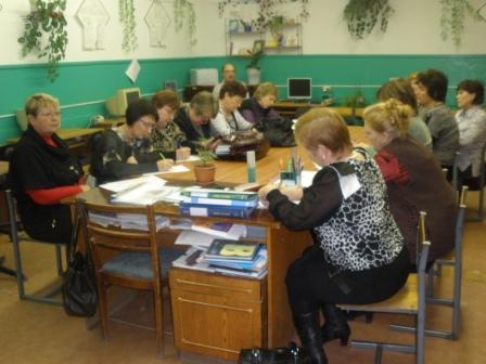 Рабочий момент конференции словесников - МКОУ `Каширинская средняя общеобразовательная школа имени Белоусова Д.А.`