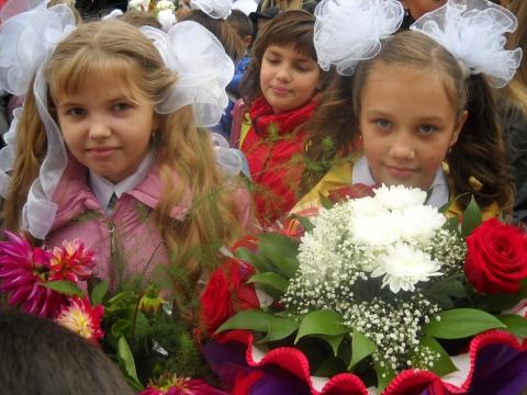 1 сентября 2010 школа № 345 17 - Средняя общеобразовательная школа 345