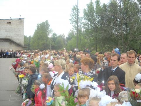 1 сентября 2010 школа № 345 26 - Средняя общеобразовательная школа 345
