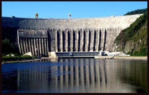 Саяно-Шушенская ГЭС - Здесь мой дом!!!