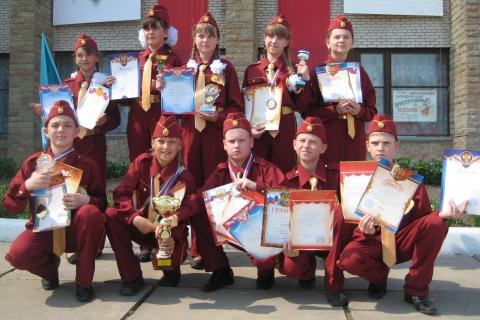 Наша команда зарничников - Волосовская средняя общеобразовательная средняя школа № 1