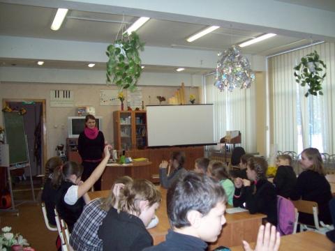 Интервью выпускницы 2008 года - Средняя школа № 23 с углублённым изучением финского языка