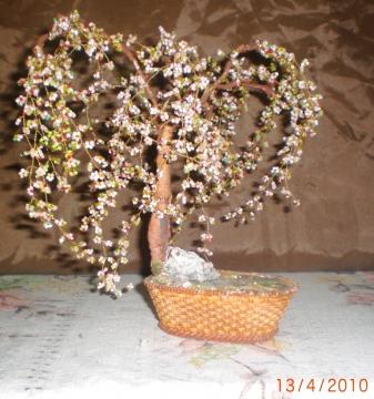 Дерево из бисера - Клуб учителей технологии.
