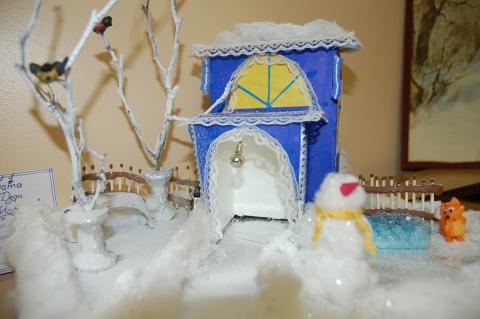 Дом для Деда Мороза - ГБДОУ 95