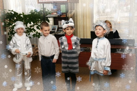 Морозко, Дядя Фёдор, Кот Матроскин и Русский Морозец - Татьяна Петровна Архипова