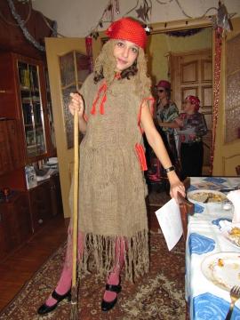 Сшить костюм бабы яги для взрослых