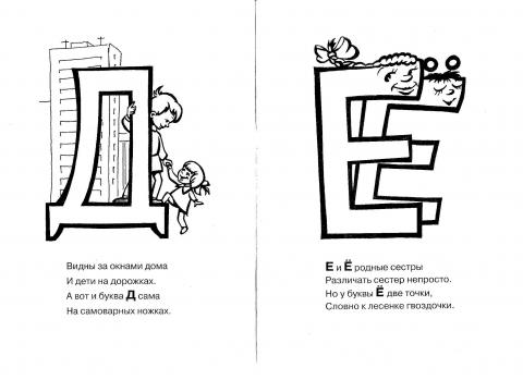 На что похожа буква Картинки и рисунки букв, похожих