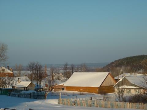 Вид на гору Крутышку и Волгу