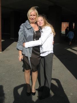 1 сентября 2009 с любимой ученицей - Дарья Вячеславовна ДРОЗДЕЦКАЯ