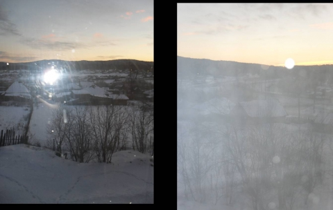 январское утро вид из окна - Тамара Николаевна Панфёрова