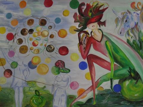 Сон вызванный просмотром картин Сальвадора Дали - Тамара Николаевна Панфёрова