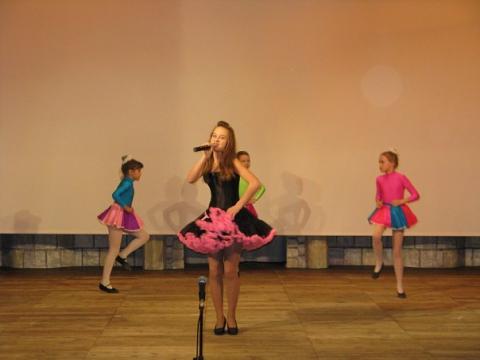 Устинова Екатерина и хореографическая группа Ручеек. - ГБОУ СОШ № 346, Комплекс