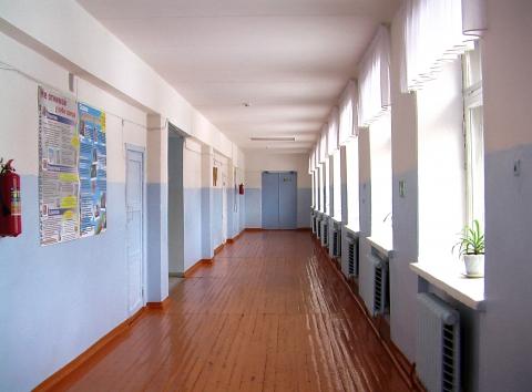 Школьный коридор фото