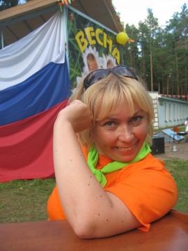 старшая вожатая МИРа - Надежда Владимировна Черенева