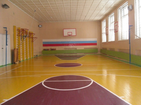 Дизайн спортивного зала в спортивной школе