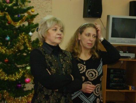Людмила Анатольевна Галядкина и Светлана Владимировна Ханукович. - ГБОУ СОШ № 346, Комплекс