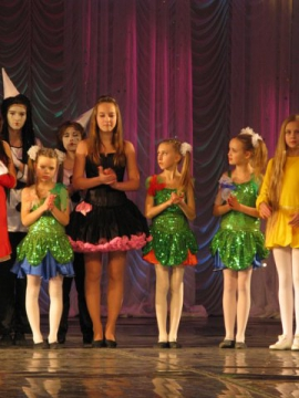 Екатерина Устинова и хореографическая группа `Ручеек` - ГБОУ СОШ № 346, Комплекс
