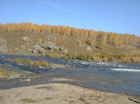 Ревун - порог на реке Исеть в Свердловской области - Вера Владимировна Пырьева