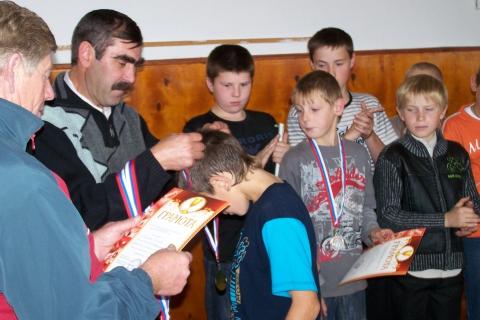 Награждение спортсменов - МКОУ `Быструхинская СШ`