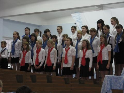 Хор школы №346 - ГБОУ СОШ № 346, Комплекс