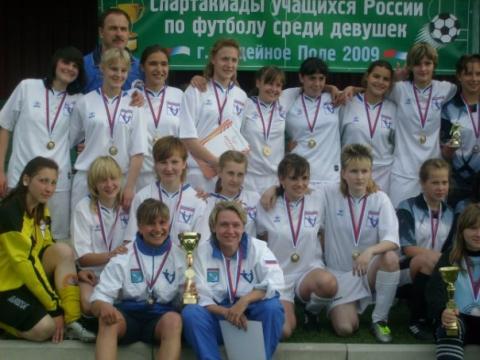 Лена Кунгурцева в сборной города - ГБОУ СОШ № 346, Комплекс