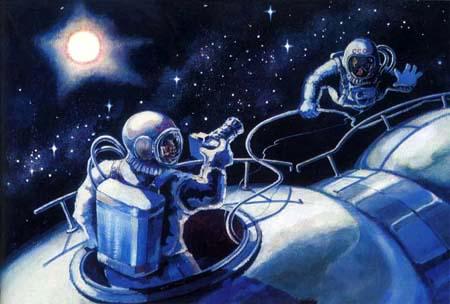 Переход в открытом космосе - Татьяна ТЕОдоровна Гридина