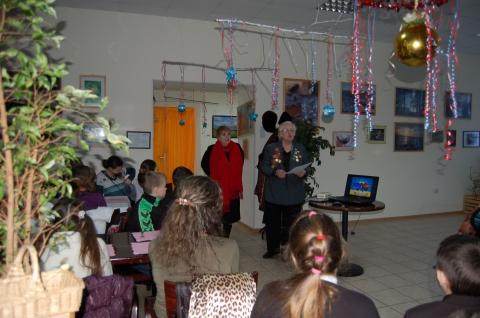 Встреча с детьми блокады - Гимназия 330