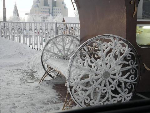 Югорск Зима 2011 - Галина Георгиевна Черменева
